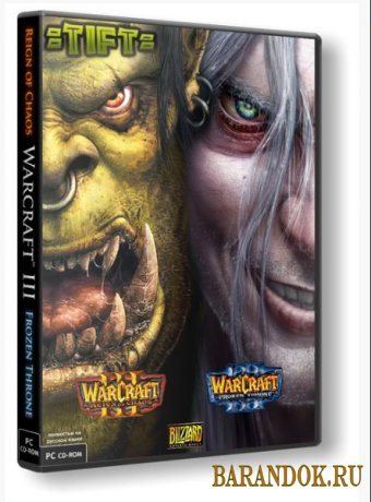Warcraft 3 Frozen Throne [v 1.26a] (RUS/ENG/2002/PC) Repack от TIFT
