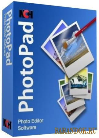 NCH PhotoPad Image Editor Pro 5.00 Portable ML/Rus
